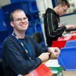 Arbeiten in der Werkstatt: Für Menschen mit Behinderung
