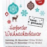Plakat Herforder Weihnachtsbasar